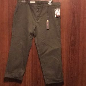 Olive Green Relaxed Trouser, Sz 10, NWT, MSRP $69